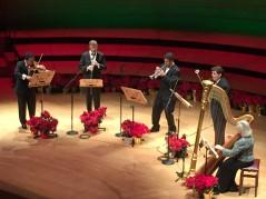 Holiday Organ 2018 quintet